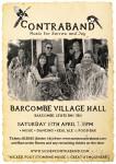 Barcombe Village Hall – Sat 18th April
